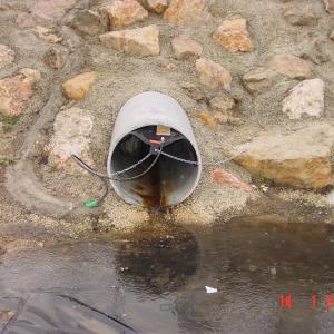 Obturateur anti pollution