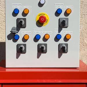 Coffret electrique commande obturateur