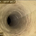Réhabilitation sur coude dans canalisation