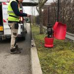 Recherche de fuite par gaz traceur