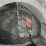 Obturateur gonflé dans canalisation