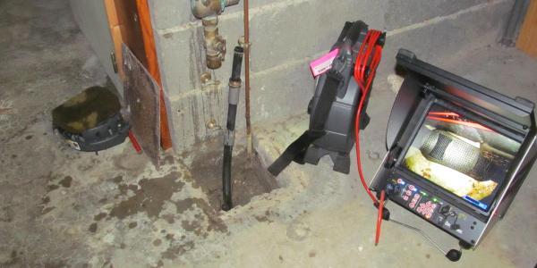 Camera inspection vidéo