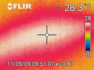 recherche de fuite à la caméra thermographique