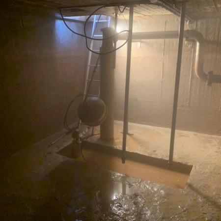 Lavage de résevoir d'eau potable